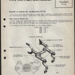 Volvo SM 400-6 1948-04-03 Kontroll av låshylsa för växelhävarmar PV 60